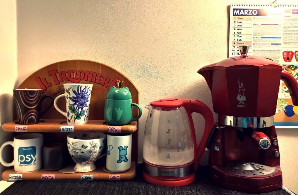Pausa caffè al Museo della Padova ebraica