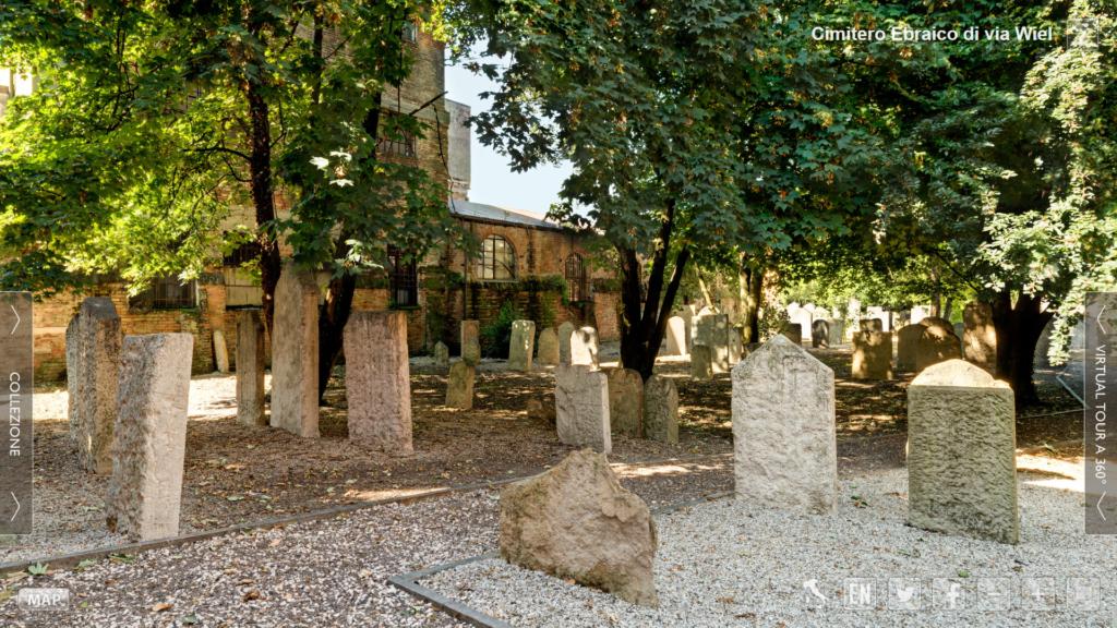 Museo Padova ebraica. Virtual tour del cimitero storico di via Wiel